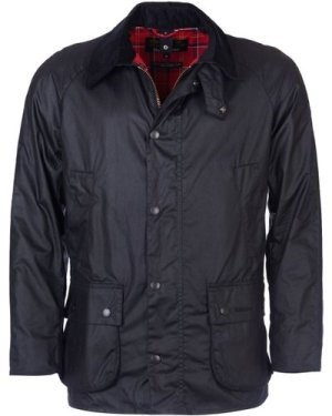 Barbour Mens Ashby Wax Jacket Black Small