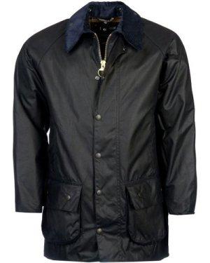 Barbour Mens Beaufort Wax Jacket Navy 44