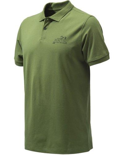 Beretta Mens Since 1526 Polo Shirt Sage Medium