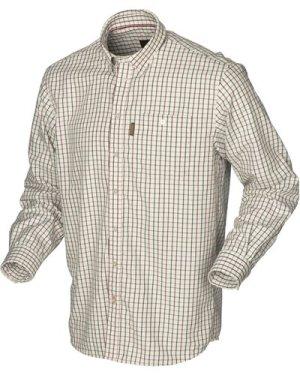 Harkila Mens Stornoway Active Shirt Red Check Large