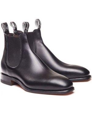 R.M. Williams Mens Craftsman Boots Black 6 (EU39)