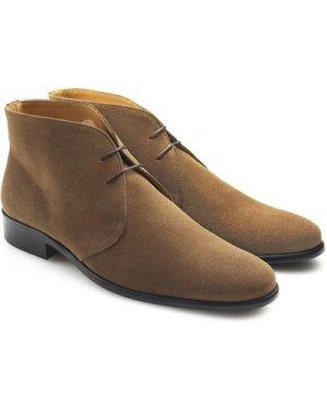 Fairfax & Favor Mens Desert Boot Tan Suede 9 (EU43)