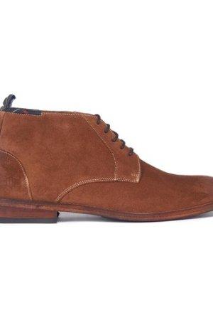 Barbour Mens Benwell Chukka Boot Cognac Suede 11 (EU46)