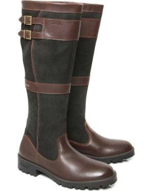 Dubarry Womens Longford  Boots Black/Brown 4 (EU37)
