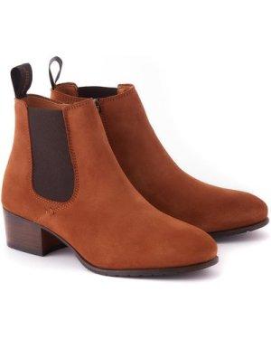 Dubarry Womens Bray Chelsea Boots Camel EU38 (UK5)