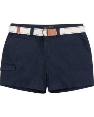 Musto Womens Tack Cotton Shorts True Navy 16