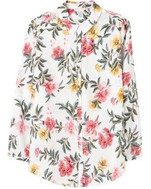Joules Womens Elvina Button Front Woven Shirt  18