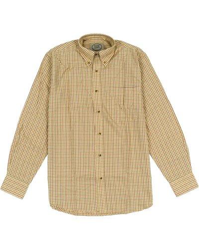 Heritage Mens 1845 Grafton Shirt Ochre Medium