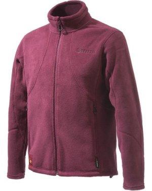 Beretta Mens Active Track Fleece Jacket Burgundy Small