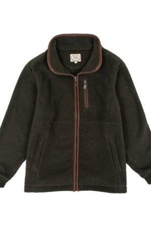 Heritage 1845  Mens Acornbury Fleece Jacket Olive Large