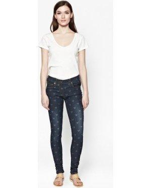 Love Heart Skinny Jeans