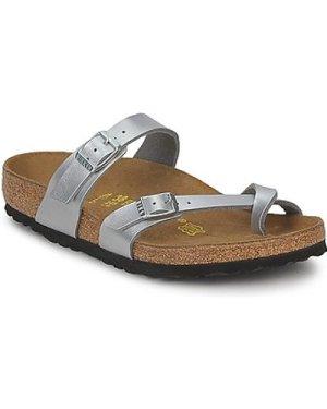 Birkenstock  MAYARI  women's Mules / Casual Shoes in Silver