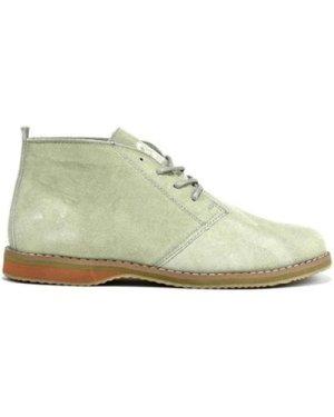 Classique  Men's Leather Suede Desert Boots  men's Mid Boots in Beige