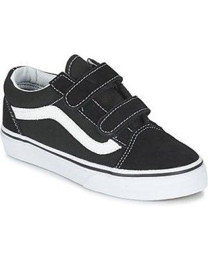 Vans  OLD SKOOL V  girls's Children's Shoes (Trainers) in Black