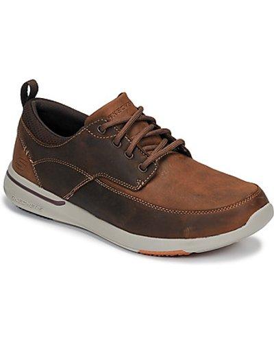Skechers  ELENT  men's Shoes (Trainers) in Brown