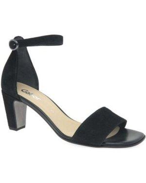 Gabor  Unicorn Womens High Heeled Sandals  women's Sandals in Black