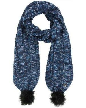 Regatta  Frosty II Knitted Scarf Blue  women's Scarf in Blue