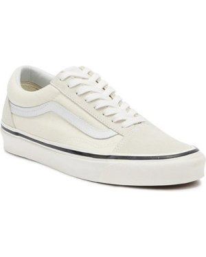 Vans  Anaheim Factory Old Skool 36 DX Classic White Trainers  men's Trainers in White