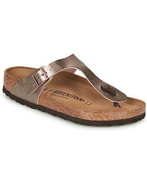 Birkenstock  GIZEH  women's Flip flops / Sandals (Shoes) in Brown
