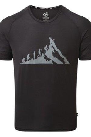 Dare 2b  Righteous II Graphic T-Shirt Black  men's T shirt in Black