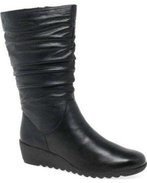 Caprice  Bettina Womens Calf Length Boots  women's High Boots in Black