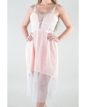 Love My Style  Edie  women's Long Dress in multicolour