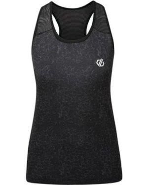 Dare 2b  Ardency Printed Vest Black  women's Vest top in Black