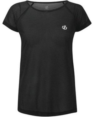 Dare 2b  Defy Quick Drying T-Shirt Black  women's T shirt in Black
