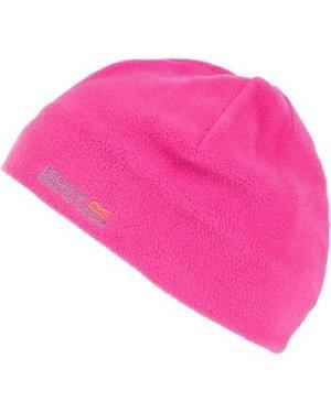 Regatta  Kids Taz II Basic Beanie Hat Pink  girls's Children's beanie in Pink