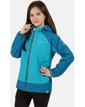 Regatta  Hurdle III Waterproof Insulated Jacket Blue  boys's Children's coat in Blue