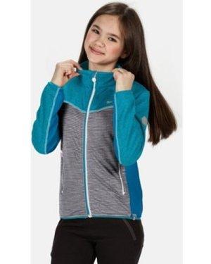 Regatta  Oberon III Full Zip Softshell Stretch Midlayer Blue  boys's Children's sweatshirt in Blue