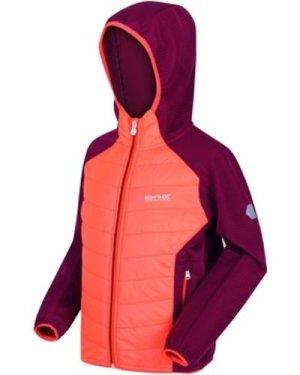 Regatta  Kielder IV Lightweight Hooded Hybrid Walking Jacket Orange  boys's Children's Jacket in Orange