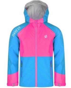 Dare 2b  Affiliate Lightweight Hooded Waterproof Jacket Blue  boys's Children's jacket in Blue