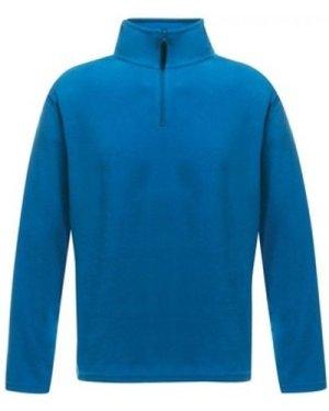 Professional  Micro Lightweight Half Zip Fleece Blue  men's Fleece jacket in Blue