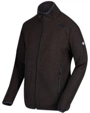 Regatta  Torrens Full Zip Mid Weight Fleece Black  men's Fleece jacket in Black