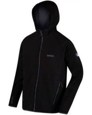 Regatta  Arec II Hooded Softshell Walking Jacket Black  men's Fleece jacket in Black