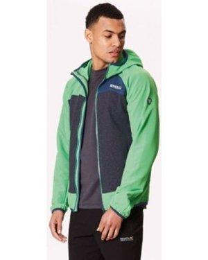 Regatta  Carpo Hybrid Softshell Jacket Green  men's Fleece jacket in Green