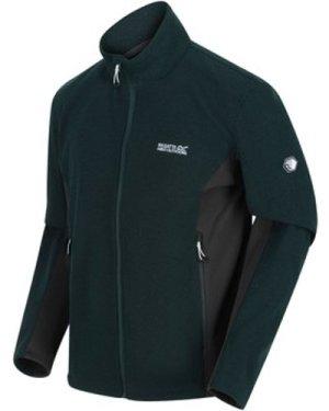 Regatta  Highton Winter Full Zip Two Tone Walking Fleece Green  men's Fleece jacket in Green