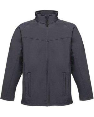 Professional  Uproar Interactive Softshell Jacket Blue  men's Jacket in Blue