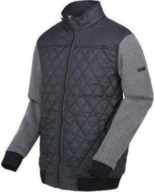 Regatta  Rafiq Insulated Quilted Jacket Grey  men's Jacket in Grey