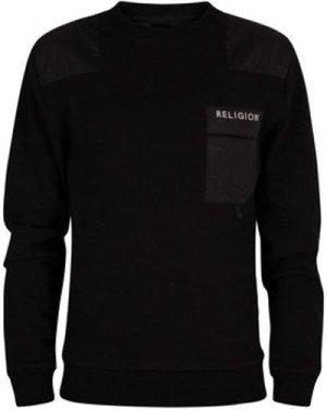 Religion  Barrage Sweatshirt  men's Sweatshirt in Black