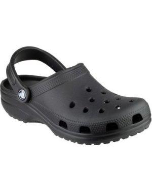 Crocs  CLASSIC UNISEX   ()  men's Clogs (Shoes) in Black