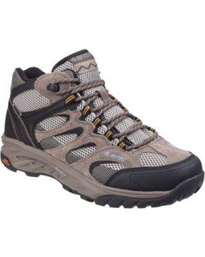 Hi-Tec  O006692-42 Wild-Fire Mid I Waterproof  men's Walking Boots in Beige