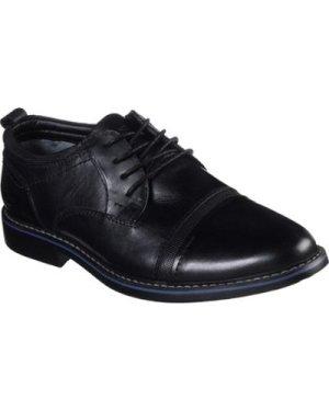 Skechers  66402BLK6 Bregman Selone  men's Casual Shoes in Black