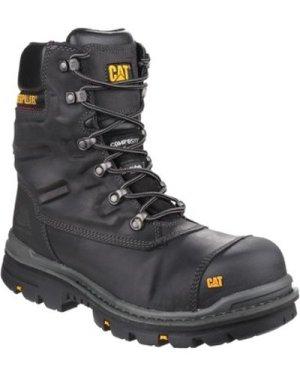 Cat Footwear  CT025A Premier  men's Mid Boots in Black