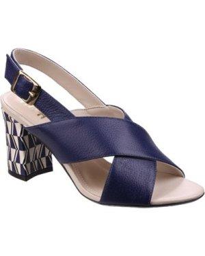 Riva Di Mare  Budino Leather  women's Sandals in Blue