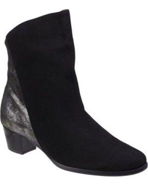 Riva Di Mare  Anita  women's Low Ankle Boots in Black