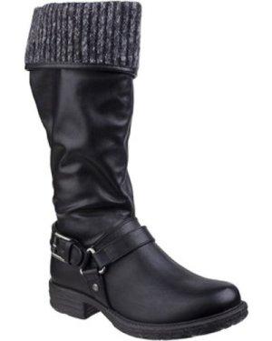 Divaz  Monroe  women's High Boots in Black
