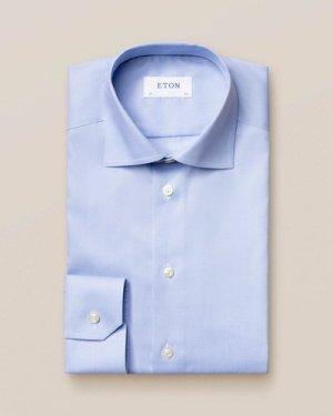 Light Blue Houndstooth Shirt
