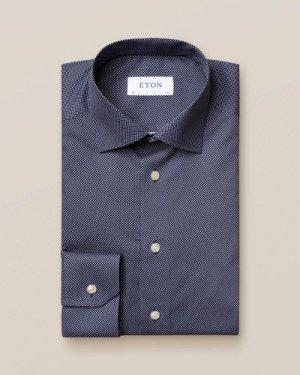 Dark Blue Signature Dots Shirt